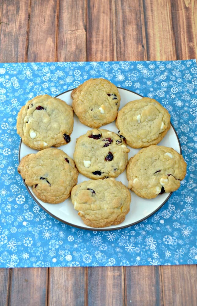 I love the flavors in these Cranberry Bliss Bar Cookies!