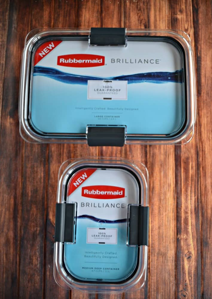 Love these new Rubbermaid Brilliance food containers!