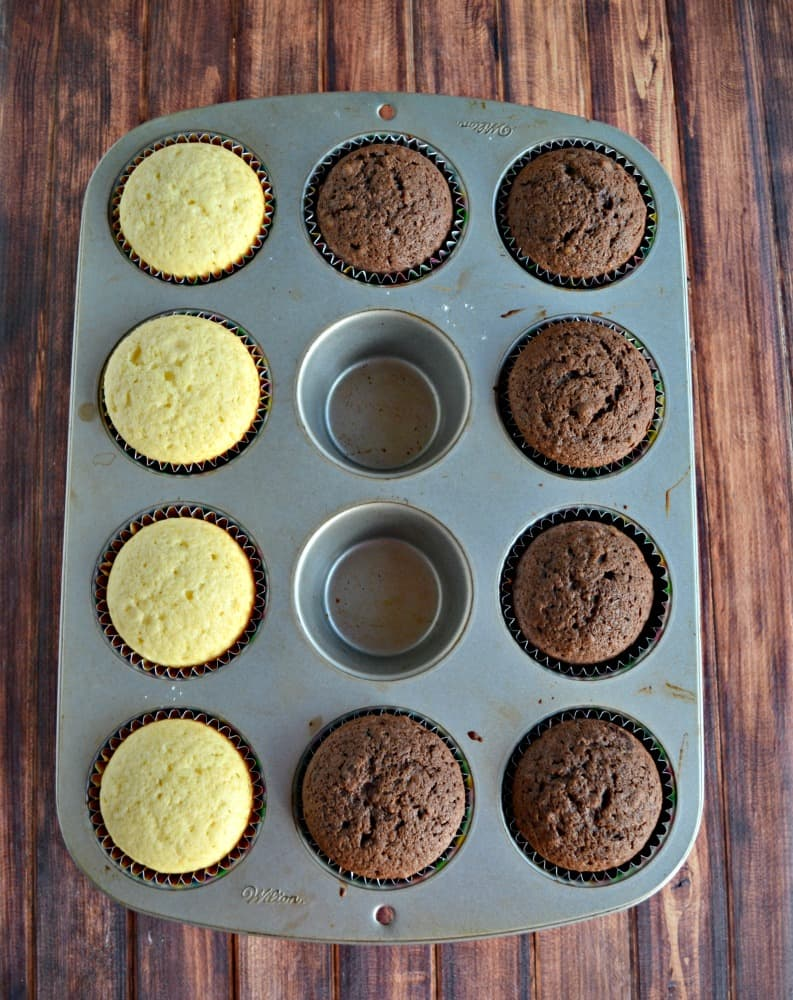 Looking for a holiday dessert? Try my Salted Caramel Chocolate Cupcakes!
