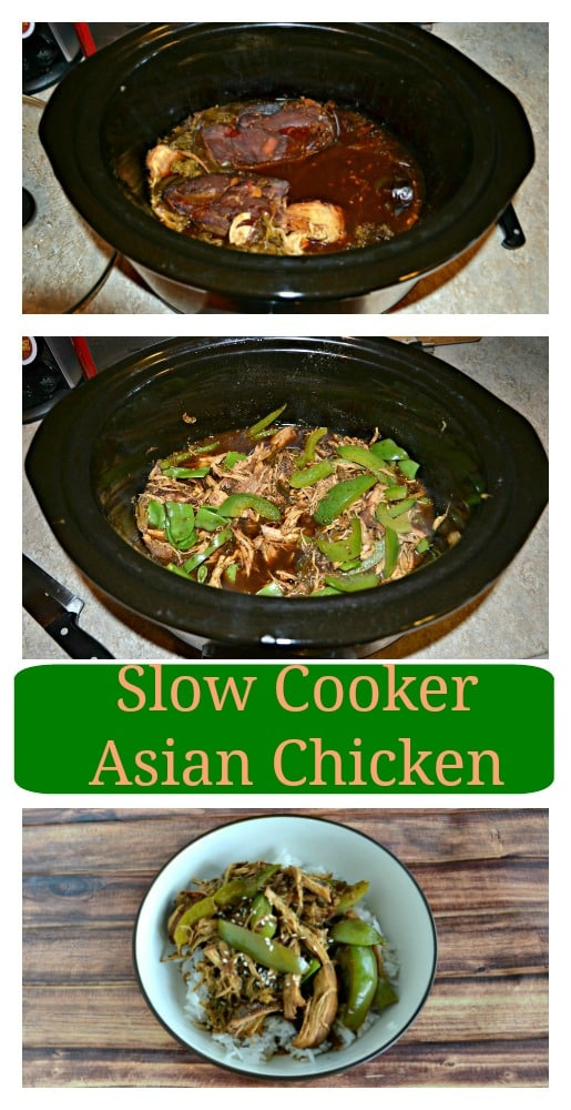 This Sweet and Spicy Slow Cooker Asian Chicken is a delicious weeknight meal