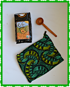 Delicious Fair Trade Coffee set from World Vision Catalog