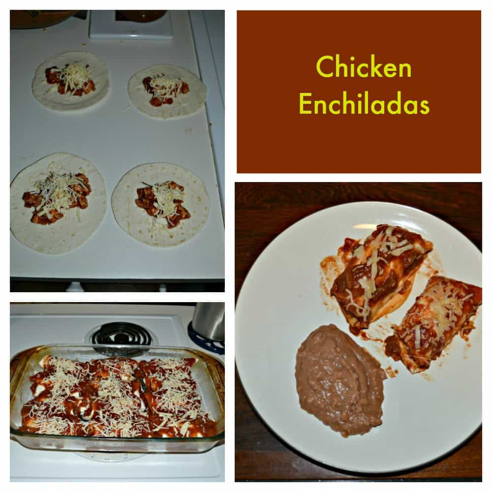 Don't order out, make Chicken Enchiladas at home tonight!