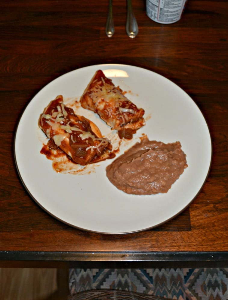 Looking for a great Mexican meal? Try these Chicken Enchiladas with the best homemade sauce!