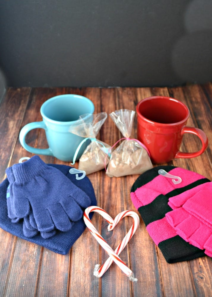 Everything you need to make a DIY Cold Weather Care Package