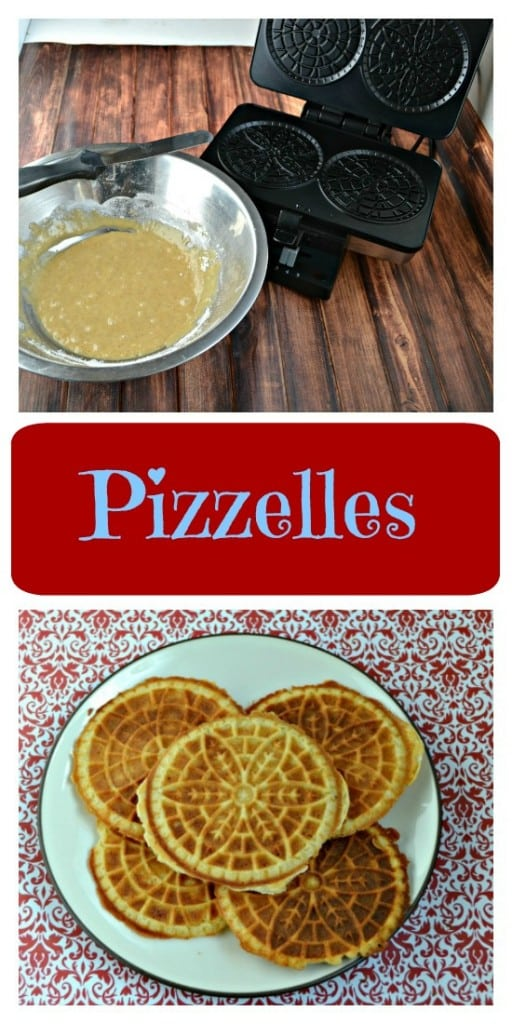 Looking for the perfect holiday cookie? You'll love these crispy Spiced Vanilla Pizzelles.