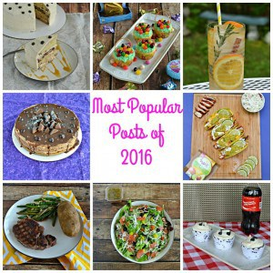 Top 10 Most Popular Recipes of 2016