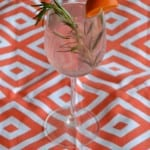 Rosemary and Blood Orange Sangria for a Party!