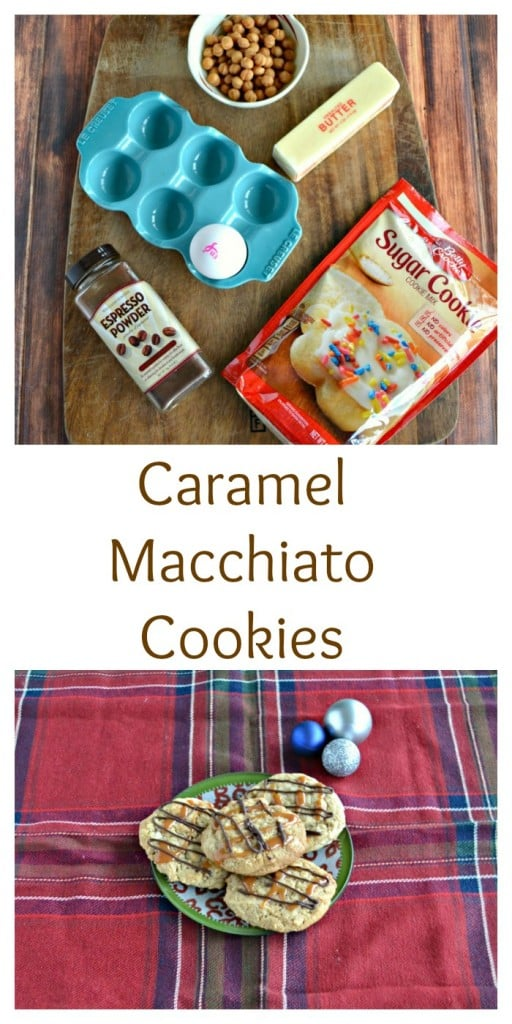 Everything you need to make these incredible Caramel Macchiato Cookies!