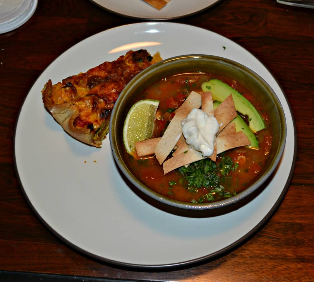Looking for a great soup recipe? Try this Chicken Poblano Tortilla Soup.