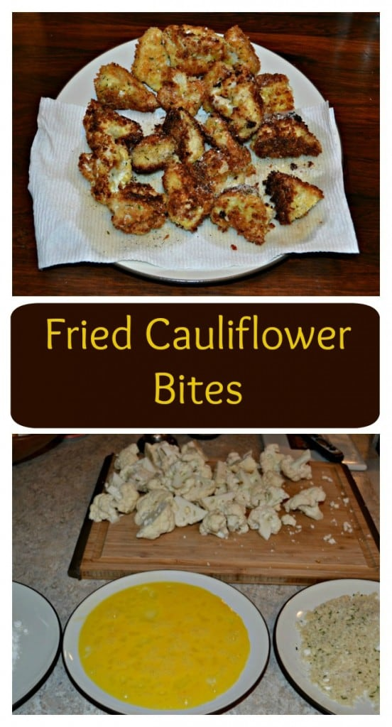 Need a tasty vegetable the whole family will eat? Try these Fried Cauliflower Parmesan Bites!