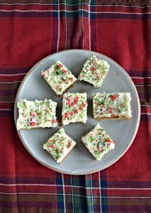 Gingerbread Bars with Eggnog Frosting #SundaySupper