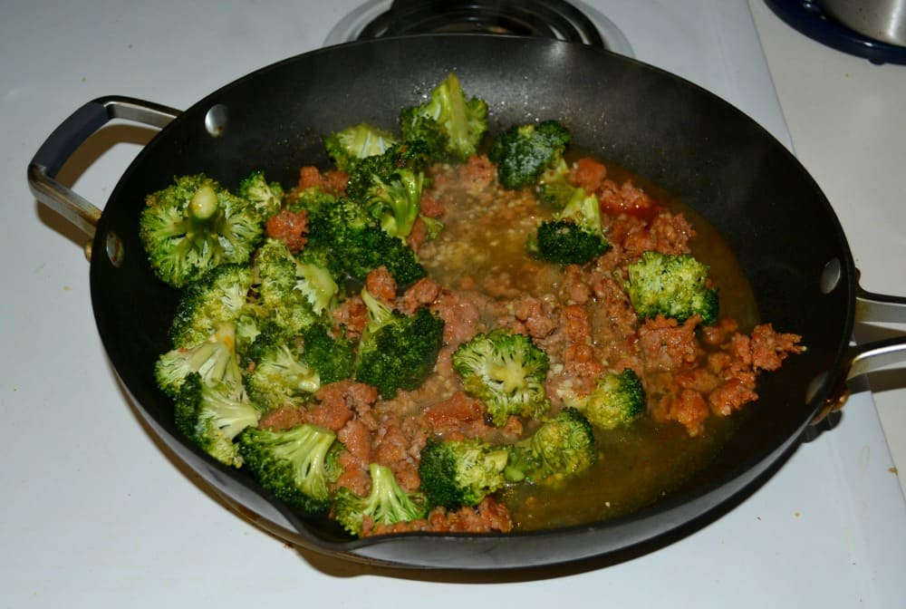Love this easy Skillet Pasta with Sausage and Broccoli