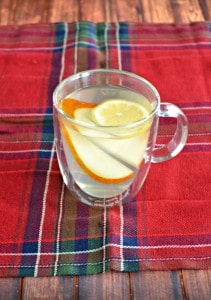 Pear Lemon Hot Toddy