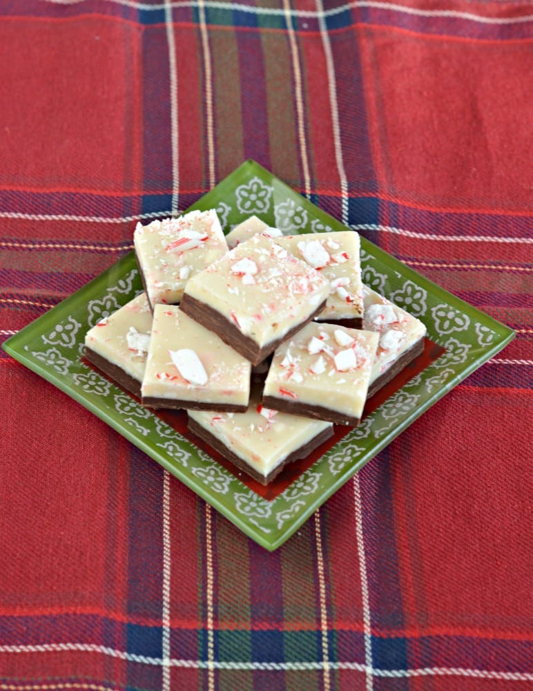 Peppermint isn't just for the holidays so why not make this Peppermint Bark Fudge any time of the year!