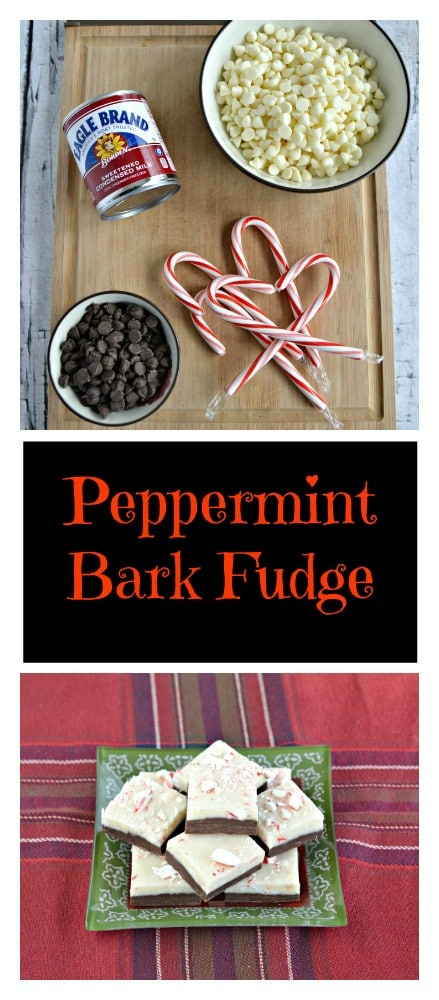 Looking for a tasty and easy to make dessert? Try this double layer Peppermint Bark Fudge!