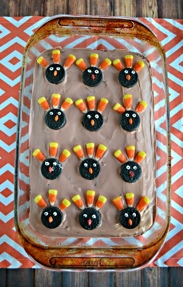 Looking for a fun Thanksgiving dessert? try these tasty Turkey Brownies!