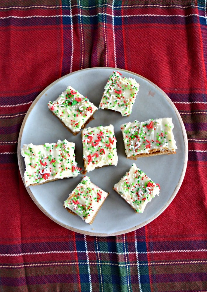 It doesn't get much more festive then these sweet and spicy Gingerbread Bars with Eggnog Frosting!