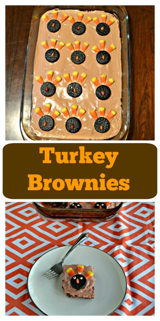 Looking for a fun Thanksgiving dessert? Try these delicious Turkey Brownies!