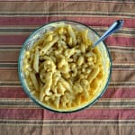 Butternut Squash Macaroni and Cheese (with a vegan option)