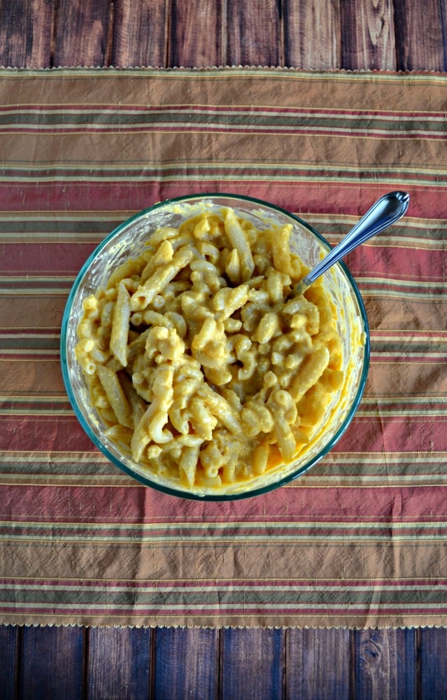 Looking for a tasty Vegan meal? Try this Butternut Squash Mac N Cheese!
