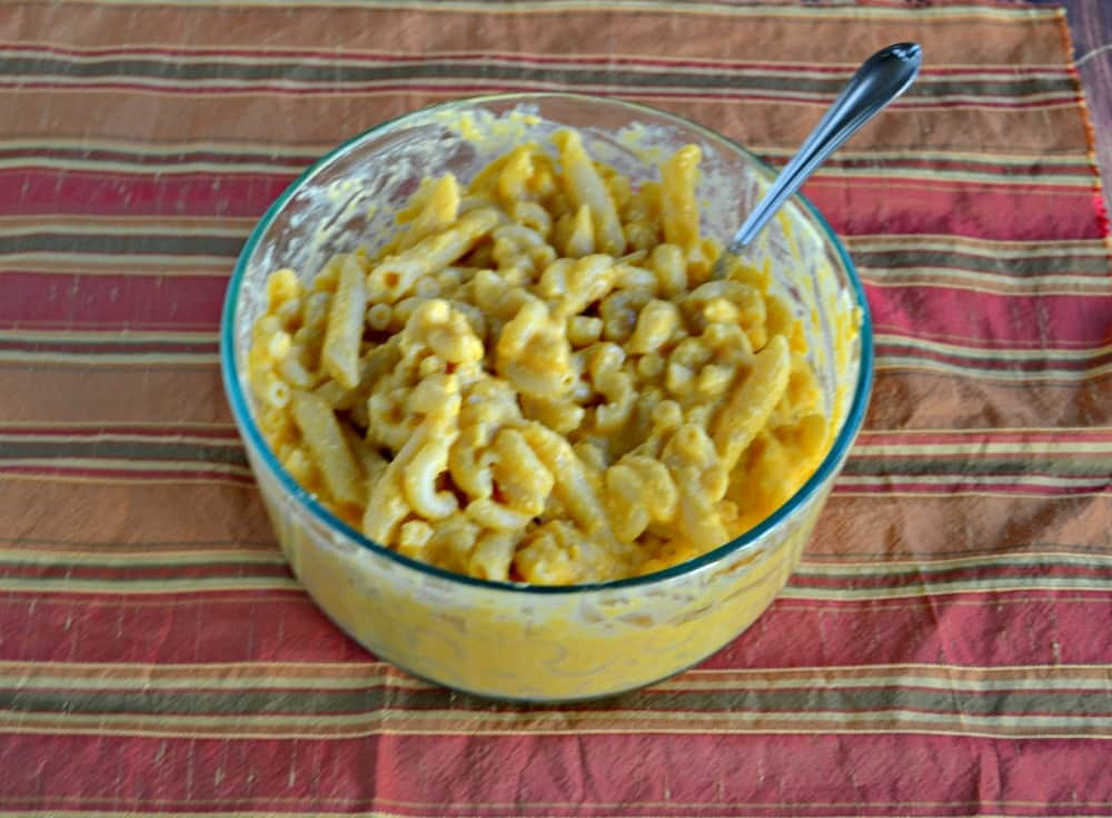 I love this creamy Butternut Squash Mac n Cheese...and it's vegan!