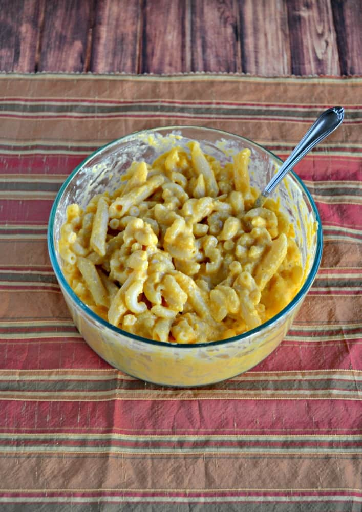 Looking for a great vegan meal? Try this tasty Butternut Mac n Cheese!