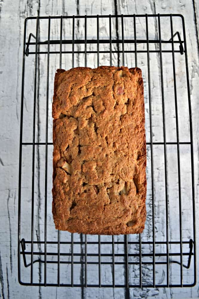Looking for a healthier bread? Try my tasty Applesauce Spice Bread!