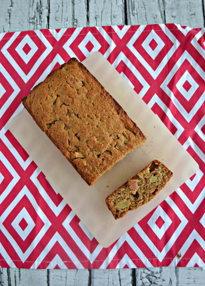 Healthier Applesauce Spice Bread is delicious for breakfast or a snack.
