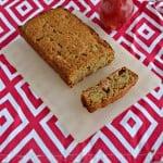 Healthier Applesauce Spice Bread #BreadBakers