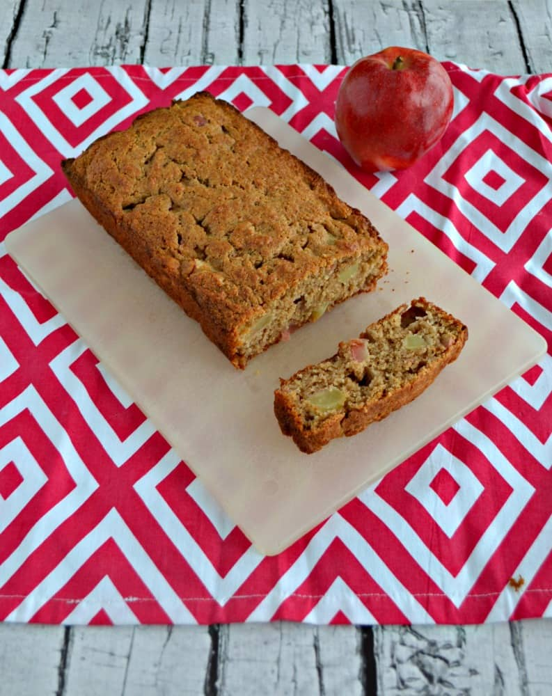 Grab a slice of this tasty and healthier Applesauce Spice Bread.