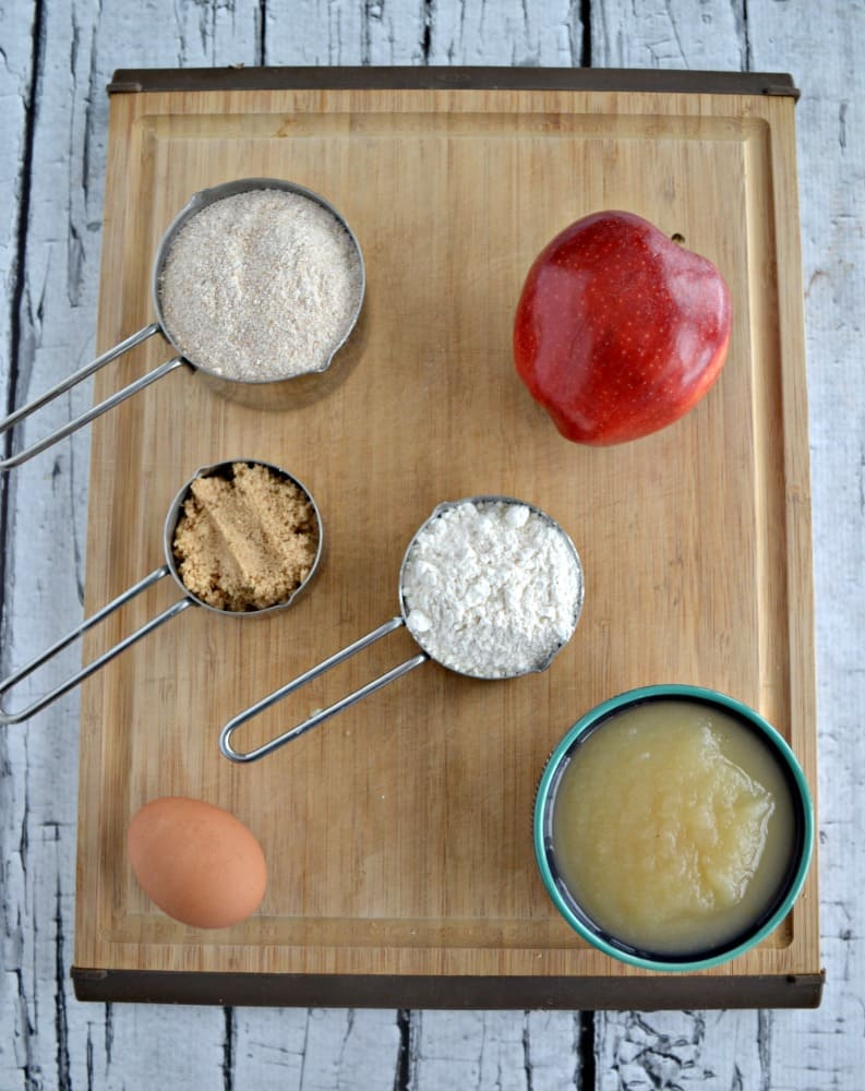 Everything you need to make Healthier Applesauce Spice Bread