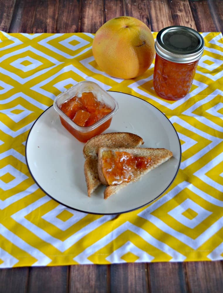 Sweet and tangy Grapefruit Marmalade