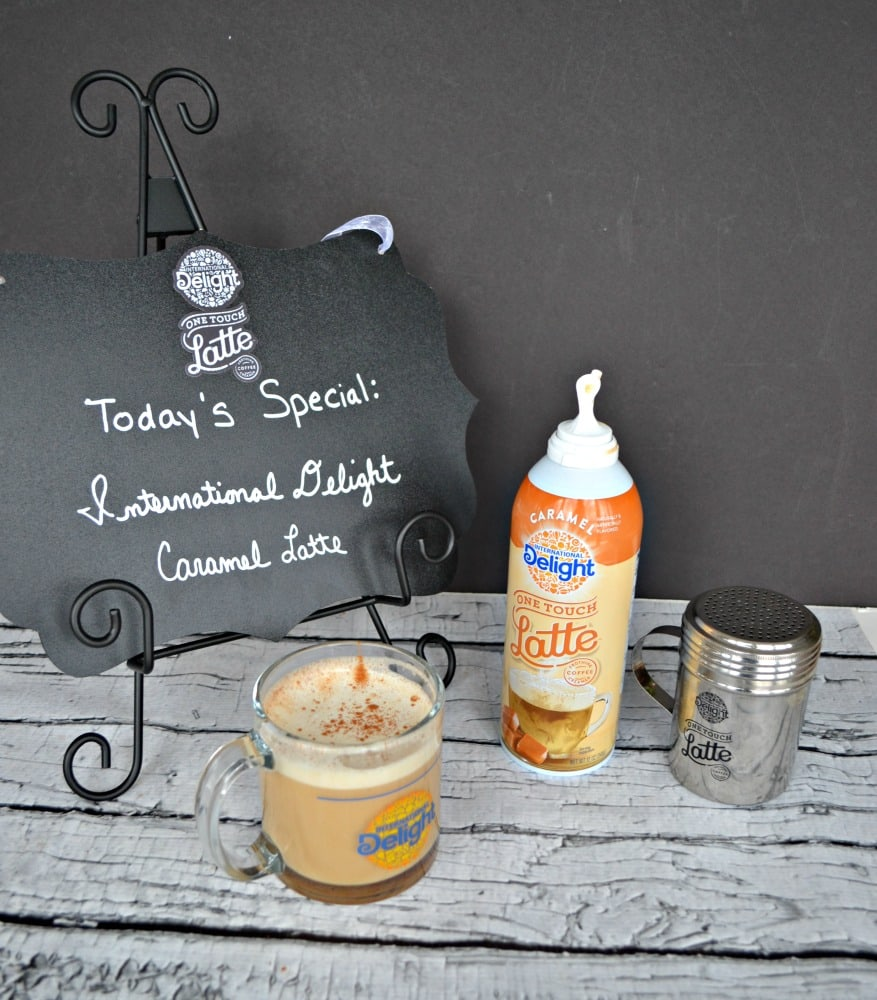 It only takes 3 easy steps to make your own coffeehouse style latte at home!