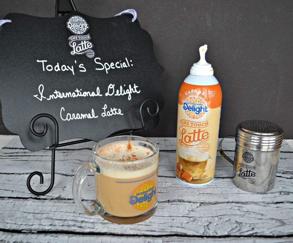 Love this delicious One Touch Latte from International Delight