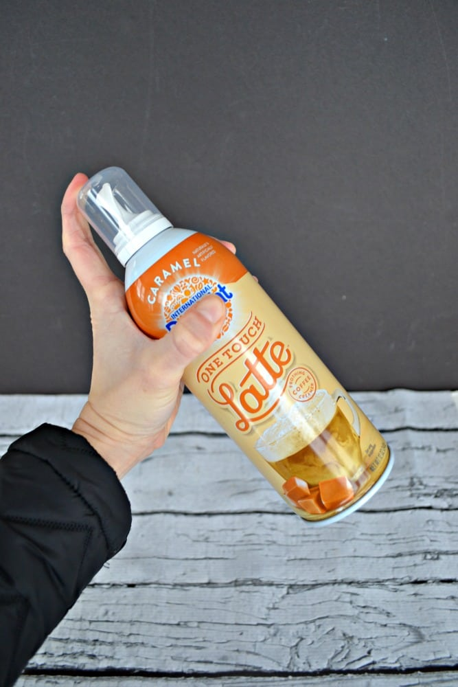 Step Two: Shake up your can of One Touch Latte™ and you are on your way to a delicious latte at home!