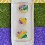 King Cake Cookie Bars #CreativeCookieExchange