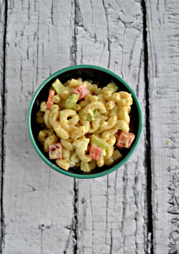 Looking for a great side dish? Try my tasty Amish Macaroni Salad recipe!