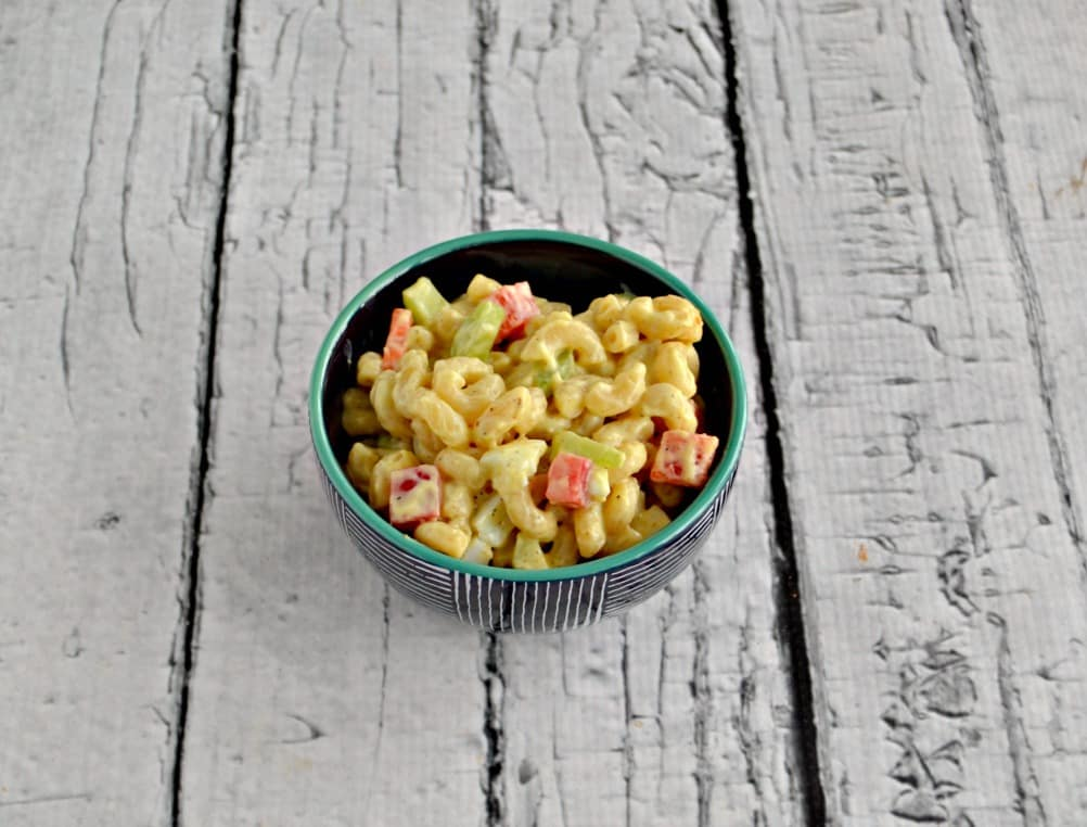 Grab a fork and dig into this Amish Macaroni Salad