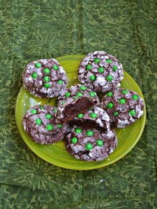 Thin Mint Stuffed Cookies
