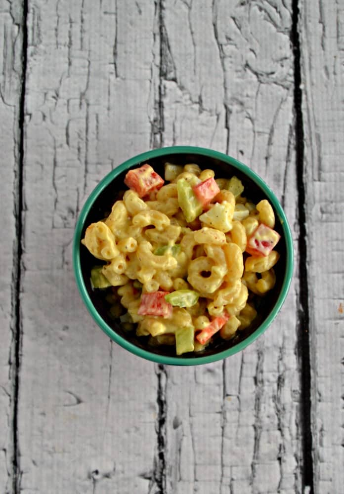 Looking for a delicious side dish? Try this tasty Amish Macaroni Salad