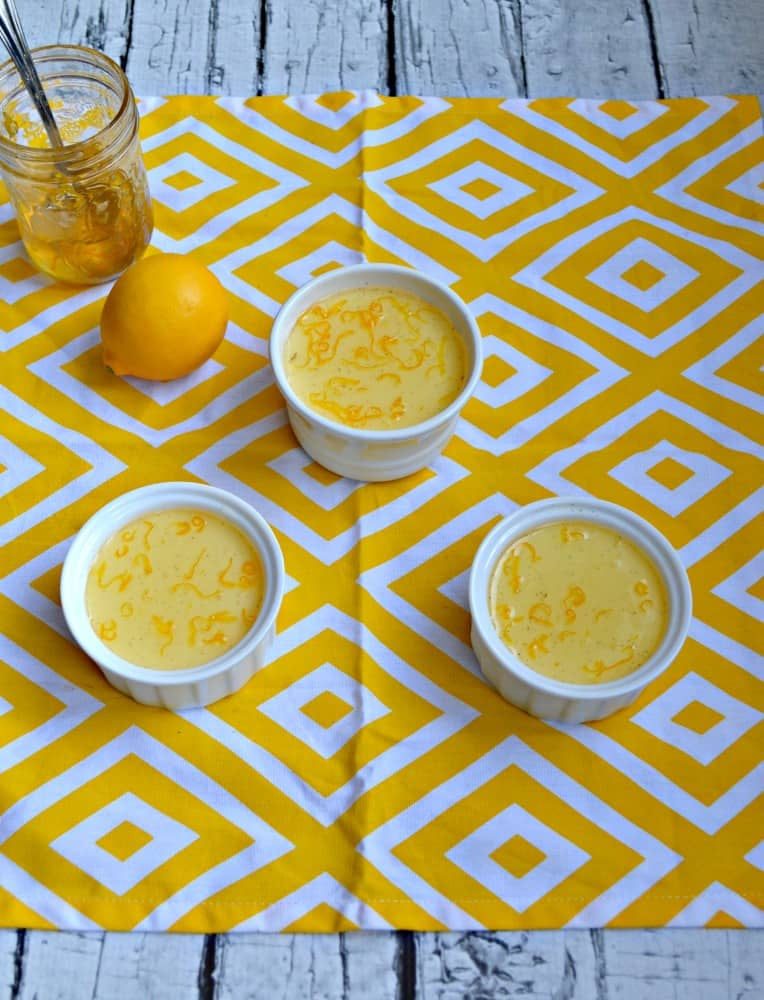 Looking for a sweet and tart dessert? Then you've got to try my Meyer lemon Panna Cotta!