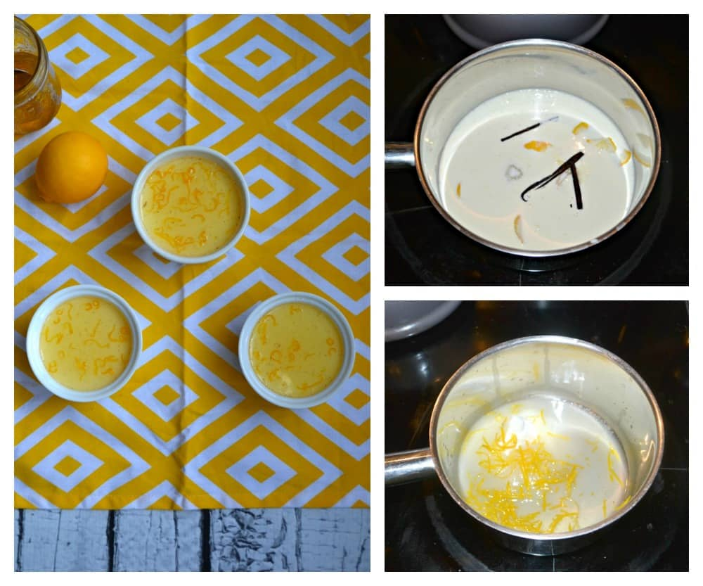 Love these individual Meyer Lemon Panna Cottas!