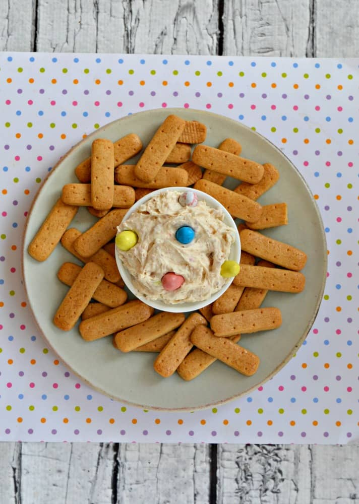 I love this easy to make Easter Malted Milk Dip!
