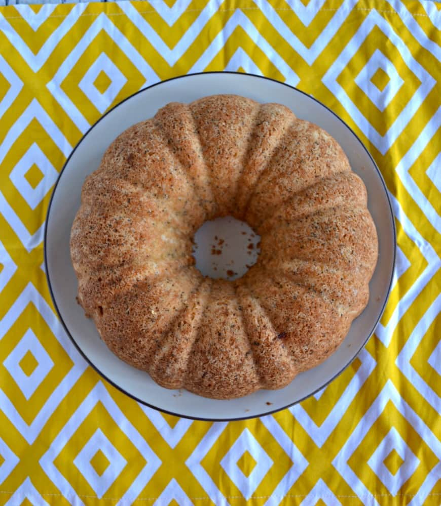 Brighten someone's day with this tasty Lemon Poppyseed Cake!