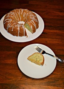 Meyer Lemon Poppyseed Bundt Cake