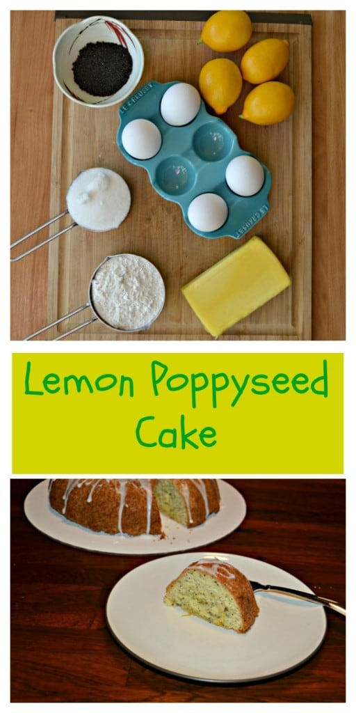 Love the bright and fresh flavor of this Lemon Poppyseed Bundt Cake
