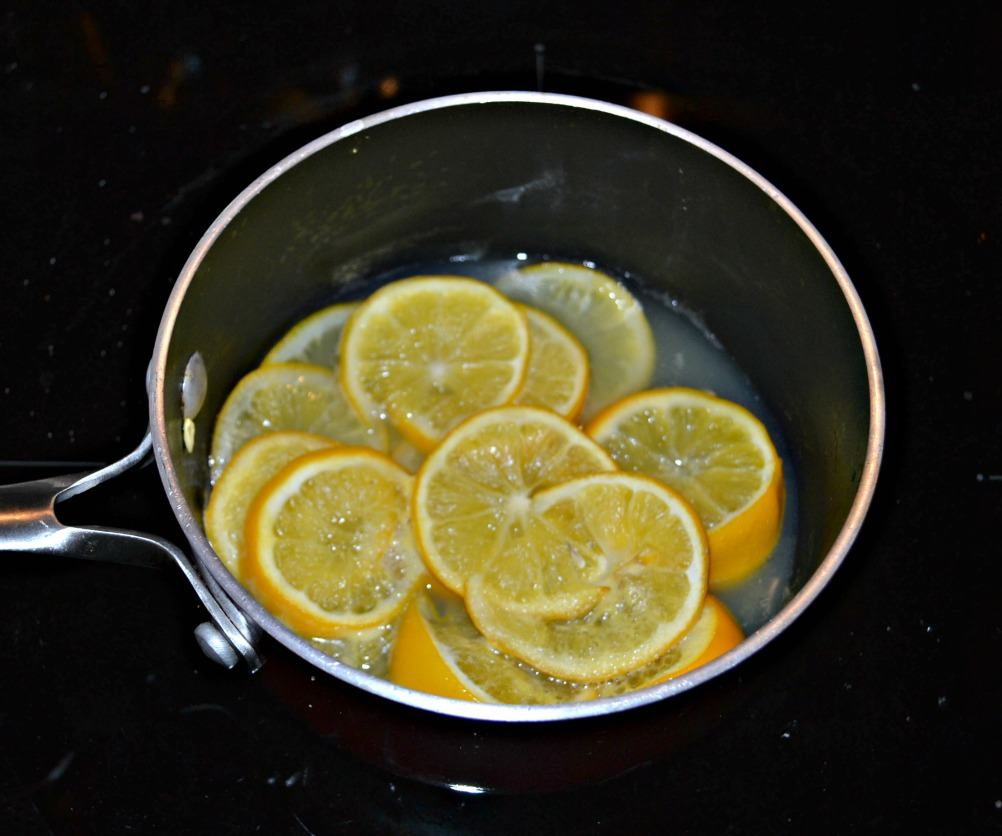 Quick preserved Meyer lemons make a delicious topping for Roasted Cauliflower