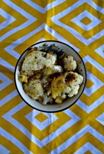 Spiced Cauliflower with Meyer Lemons
