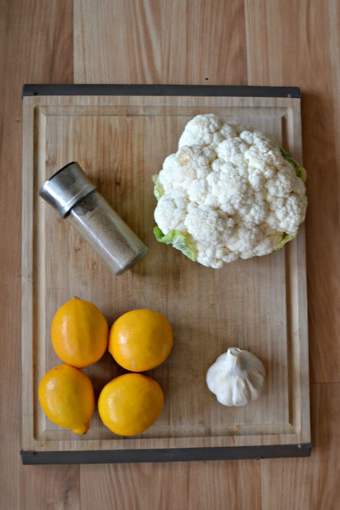 Everything you need to make Spiced Cauliflower with Meyer Lemons