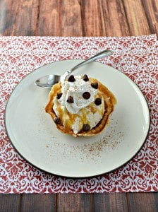 Pizzelle Sundaes